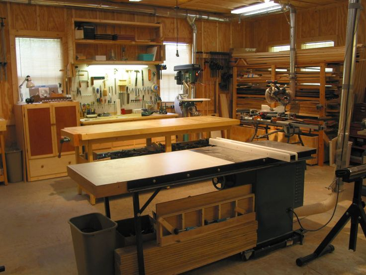 Create a Workspace For Woodworking