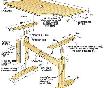 Easy Wood Coffee Table Plan The Joinery Plans Blog - Wood-coffee-table-plans
