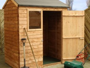 Woodworking plan for Garden Storage Wood Shed