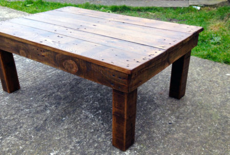 coffee table frame woodworking