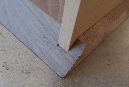 plywood box woodworking edges
