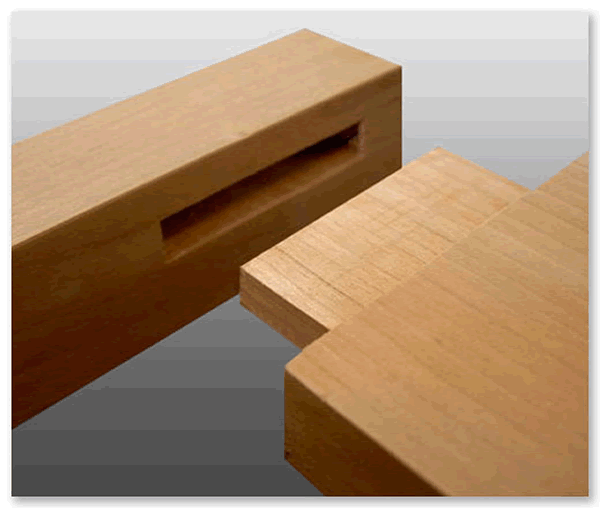 mortise tenon joinery cavity fit