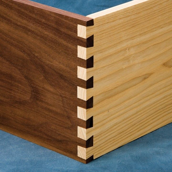 Dovetail strength surface area gluing joinery