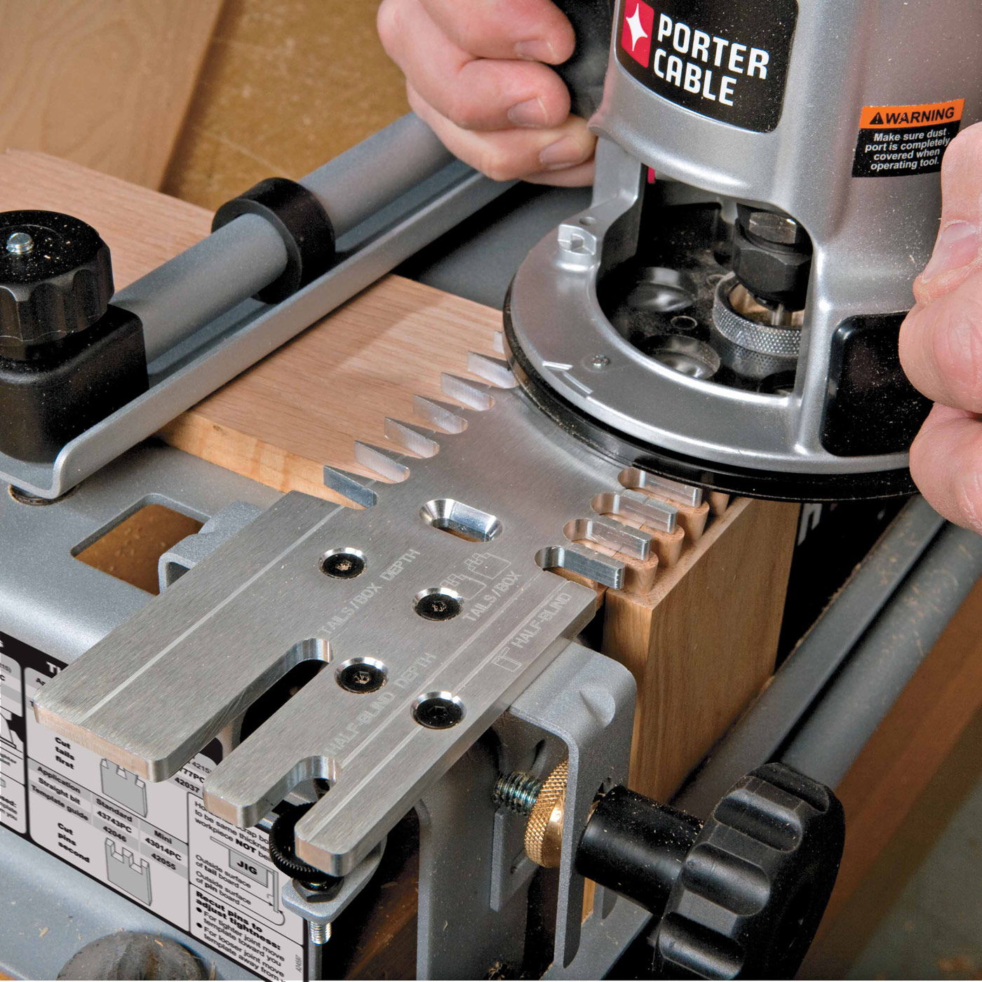 dovetail router jig
