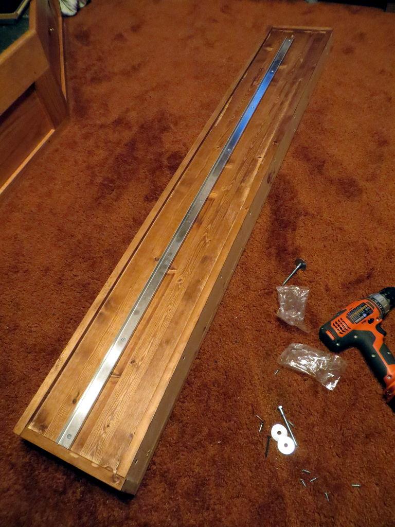 valance reinforcing brackets hinge kit