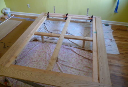 Furniture plan bed frame legs