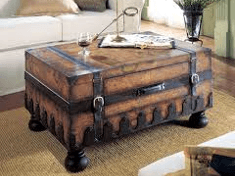 Woodworking Coffee Table & Storage Box